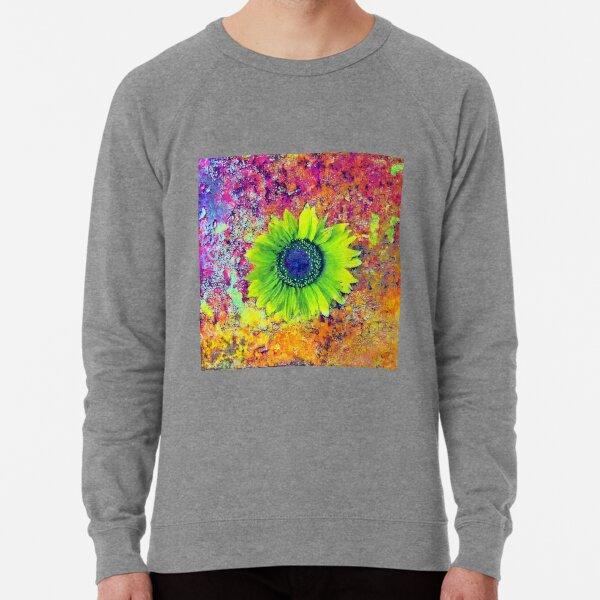Abstract sunflower Lightweight Sweatshirt