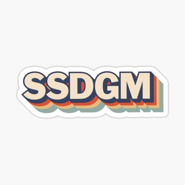 SSDGM, True Crime, MFM Murder Podcast, Stay Sexy Don't Get Murdered Sticker