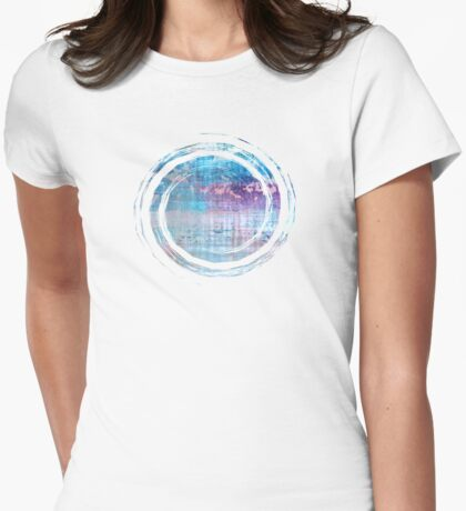 Les Aventures - JUSTART © Womens Fitted T-Shirt