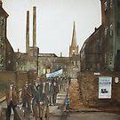 """""""A long walk South"""" by Alan Harris"""