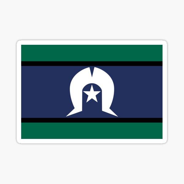 Torres Strait Islander Flag, Indigenous Peoples of Australia Sticker
