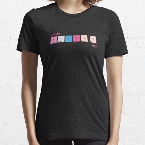 Funny Science Geek Nerd Chemistry Teacher Valentines Day Essential T-Shirt
