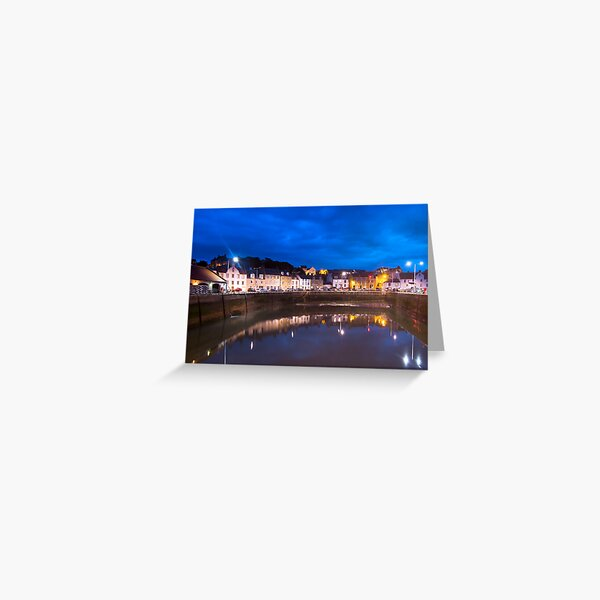Pittenweem Harbour Greeting Card