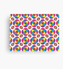 Psychedelic Pinwheels Canvas Print