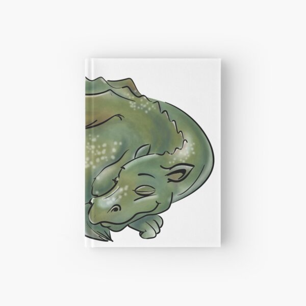 sleeping dragon Hardcover Journal