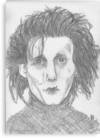 Edward Scissorhands by Tricia Winwood