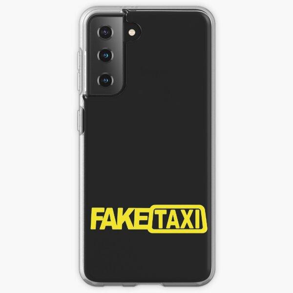 Taxi falso Funda blanda para Samsung Galaxy
