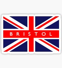 Bristol UK British Union Jack Flag Sticker