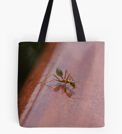 Green Ant ready to go ya! Tote Bag