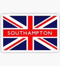 Southampton UK British Union Jack Flag Sticker