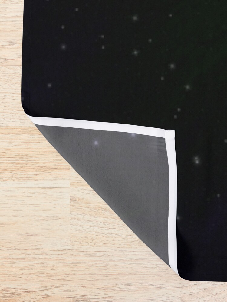 Alternate view of Planet Beta: Outer Space Planet Art Shower Curtain