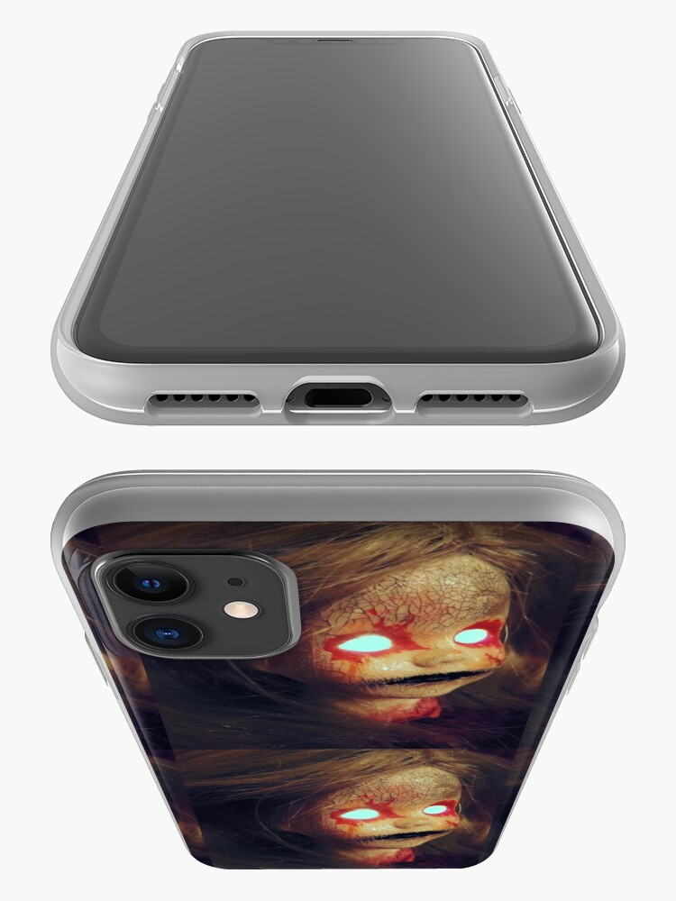 Alternate view of Zombie Horror Doll ~ Lady Scream iPhone Case & Cover