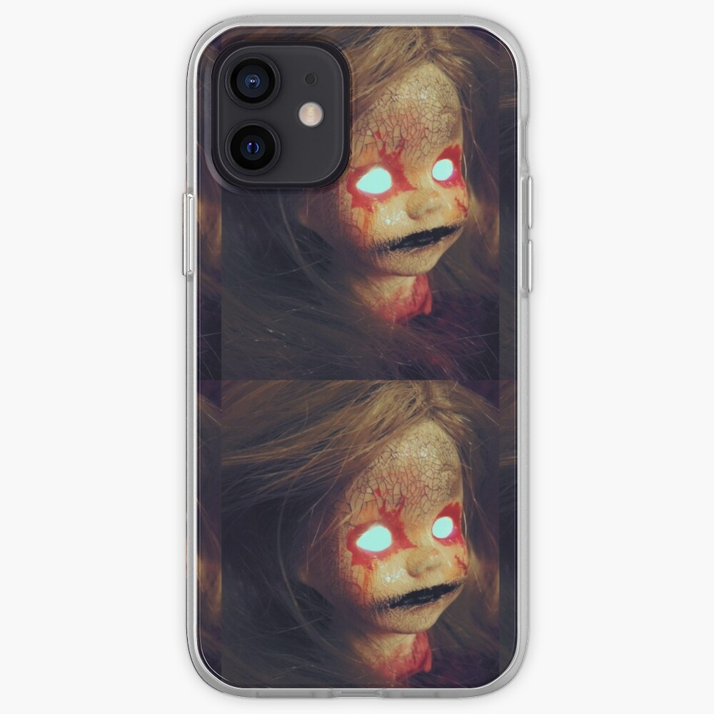 Zombie Horror Doll ~ Lady Scream iPhone Case & Cover