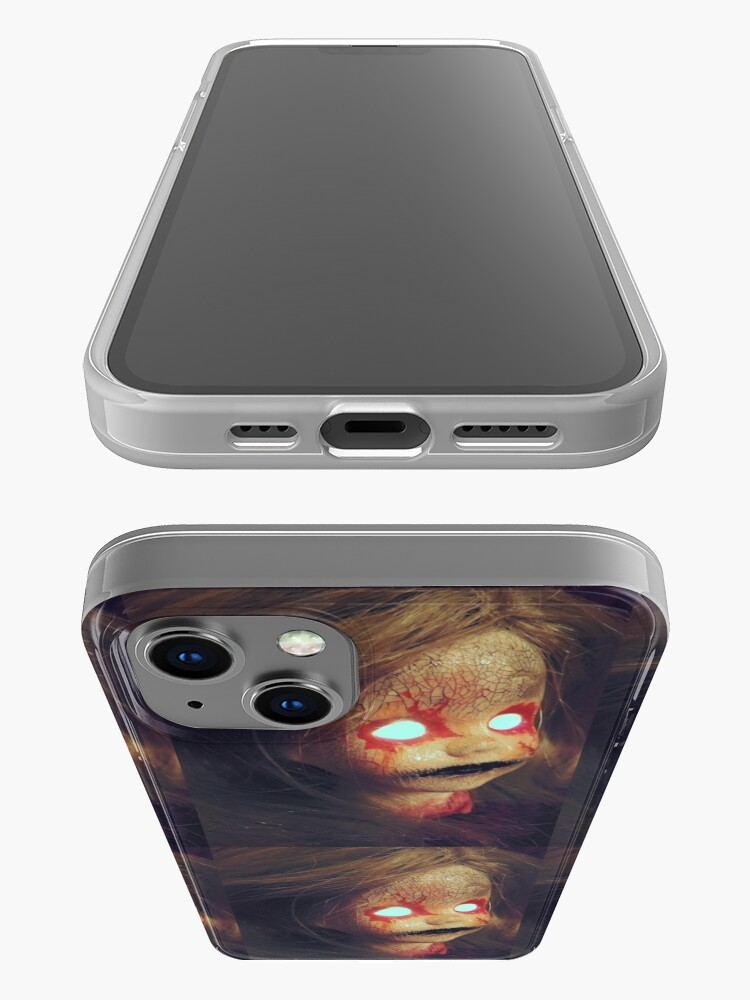 Alternate view of Zombie Horror Doll ~ Lady Scream iPhone Case