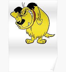 MUTTLEY FUNNY T SHIRTS T-SHIRTS WACKY RACES CARTOON ANT HILL MOB Hanna Barbera Poster