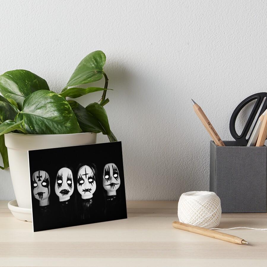 Corpse Paint Dolls ~ Lady Scream Art Board Print