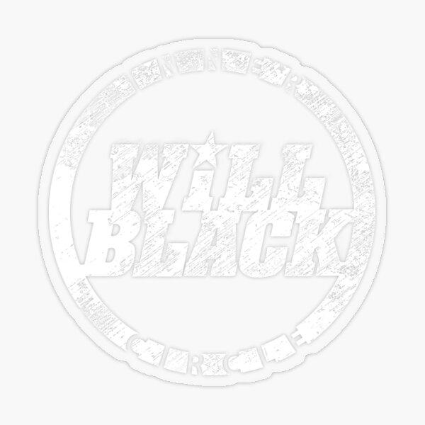 WB Inner Circle WHITE (center ice logo) Transparent Sticker