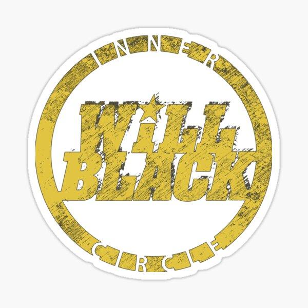 WB Inner Circle GOLD (center ice logo) Sticker