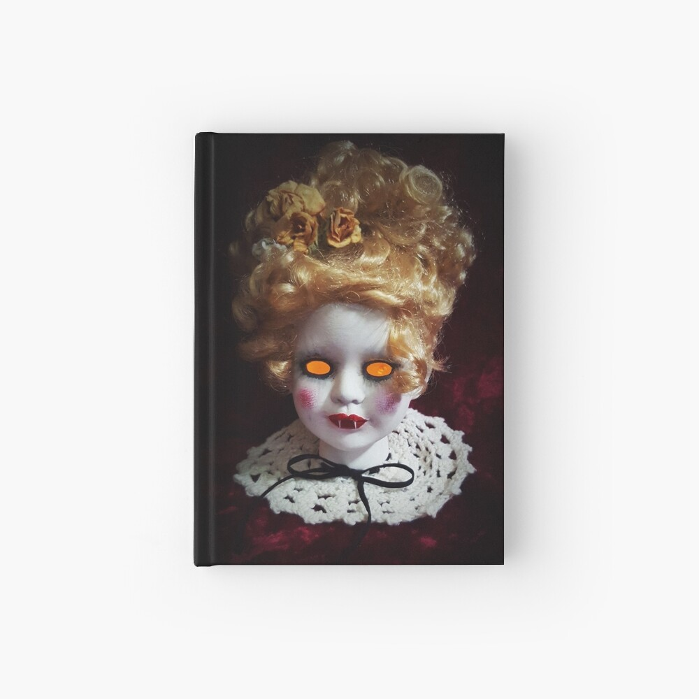 Vampire Doll  Hardcover Journal