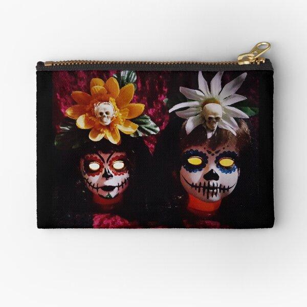 Day Of The Dead Dolls ~ Lady Scream Zipper Pouch