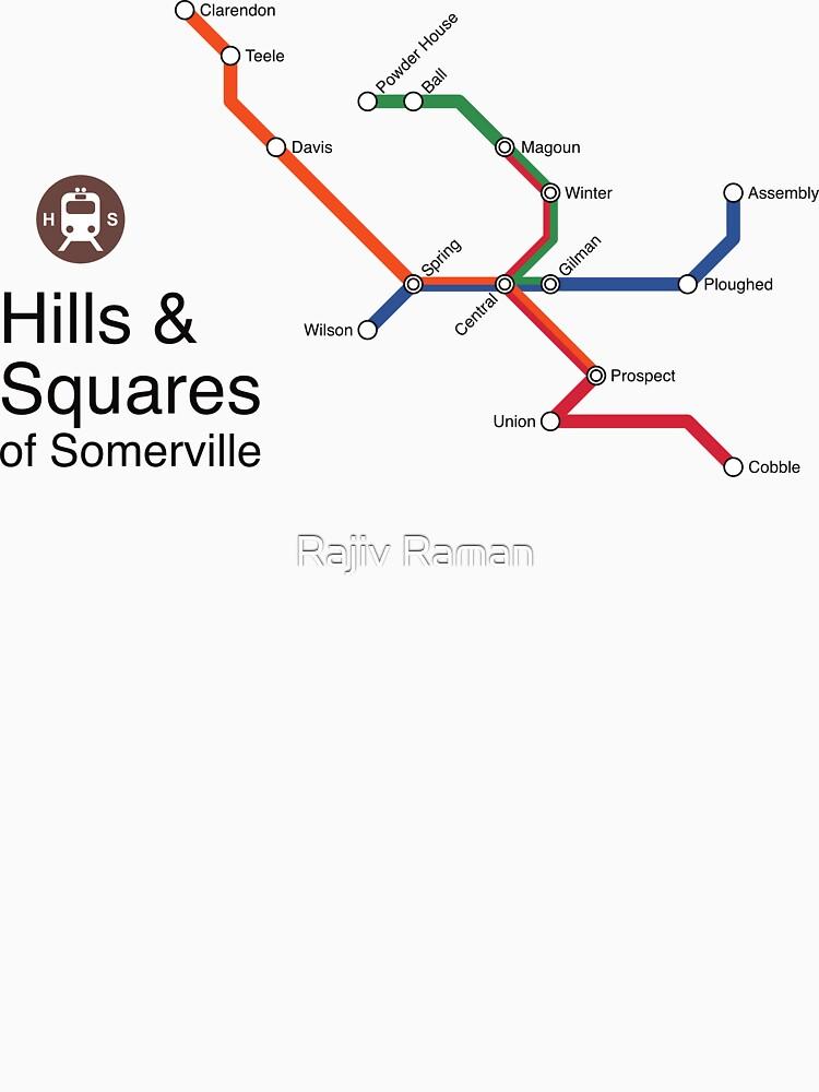 Hills & Squares of Somerville by arrtworks