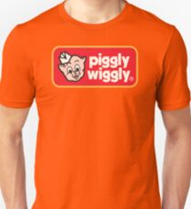Piggly Wiggly T-shirt retro 70's 80's vintage country 100% cotton graphic tee Unisex T-Shirt
