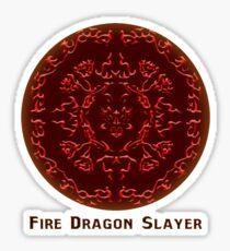 Fairy Tail - Fire Dragon Slayer Sticker