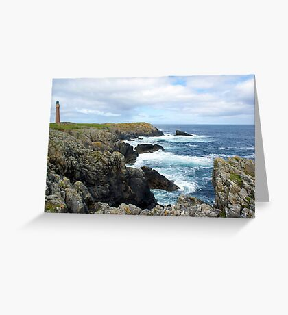 Lewis Lighthouse Greeting Card