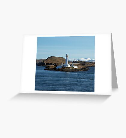 Lismore Lighthouse, Scotland Greeting Card