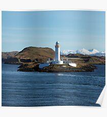 Lismore Lighthouse, Scotland Poster