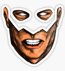 A Hero's Mask Sticker