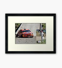 Don't Ask Me What Happened! WRC Rally Australia 2011 Framed Print