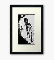 moon june spoon Framed Print