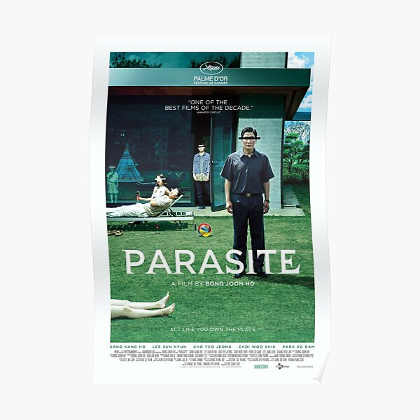 PARASITE a film by Bong Joon Ho Poster