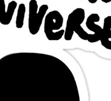 Hole To Another Universe Sticker