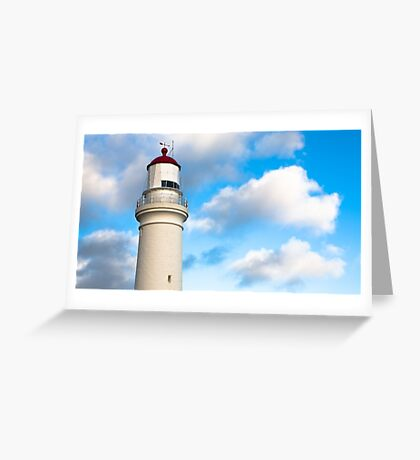 Cape Nelson Lighthouse Portland Victoria Greeting Card
