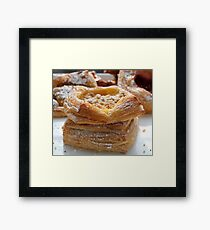 Filo Pastry Framed Print