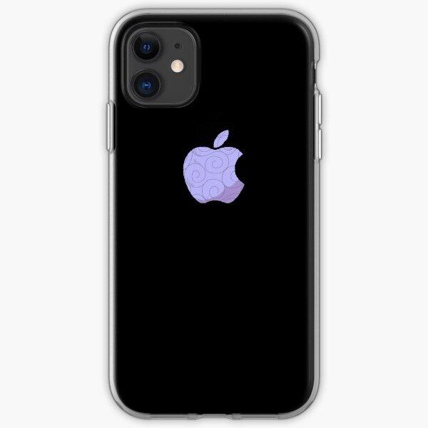 Apple one piece devil's Fruit  iPhone Soft Case