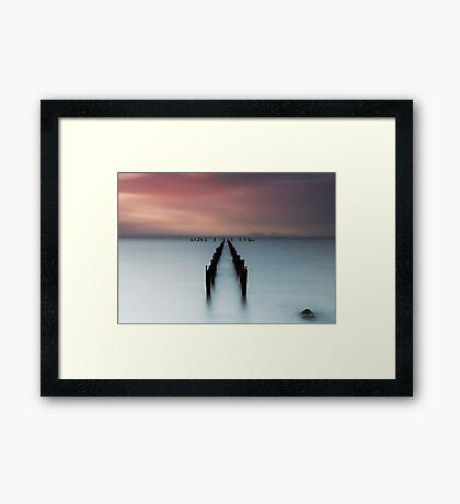 Misty Springs Framed Print