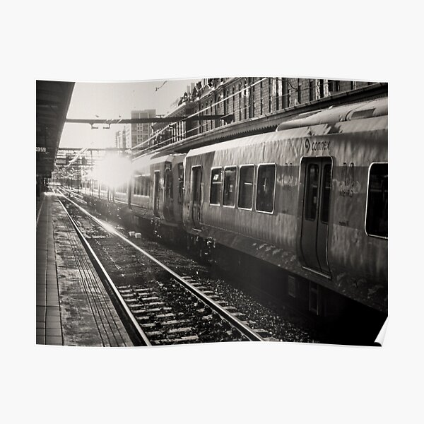 The Commute from Platform 4 Poster