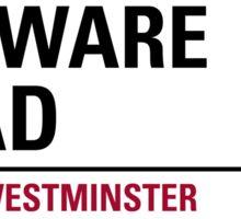 Edgware Road London Road Sign Sticker