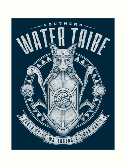 Avatar Southern Water Tribe Art Prints By Adho1982 Redbubble