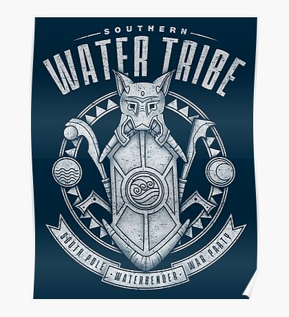 Avatar Southern Water Tribe Poster