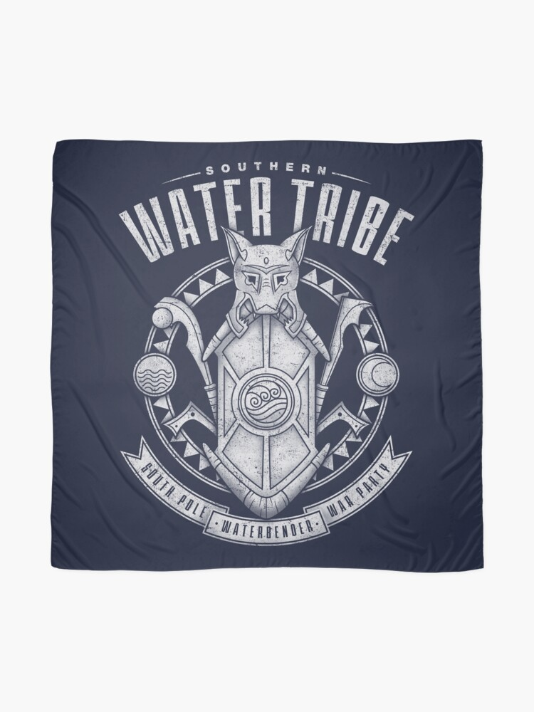 Alternate view of Avatar Southern Water Tribe Scarf