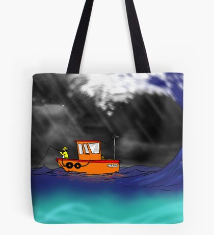 Unlucky Cornish fisherman  Tote Bag