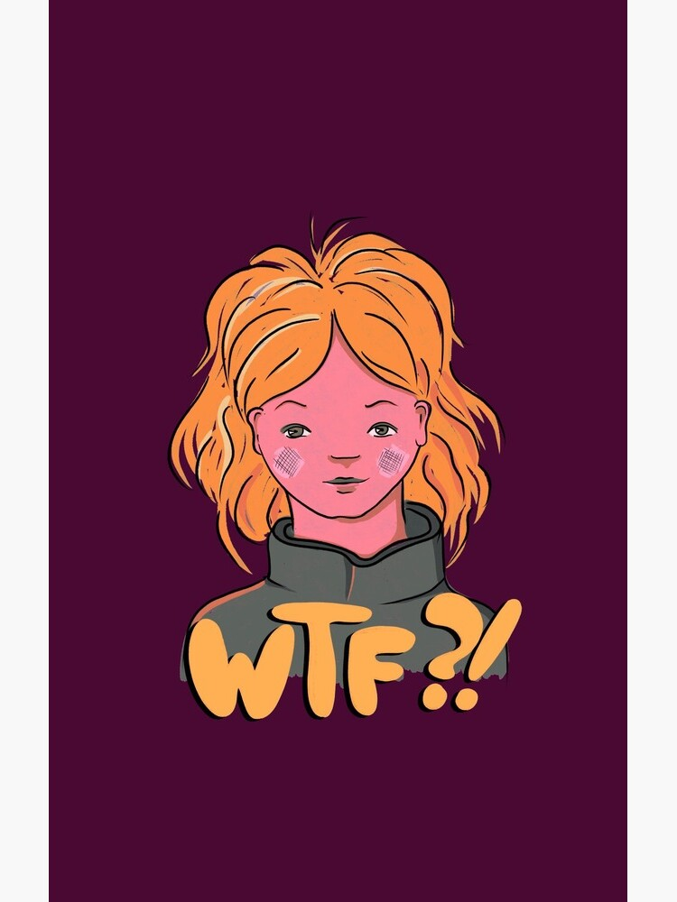 WTF ginger girl by NaliniLe