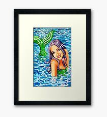 My Little Mermaid Framed Print