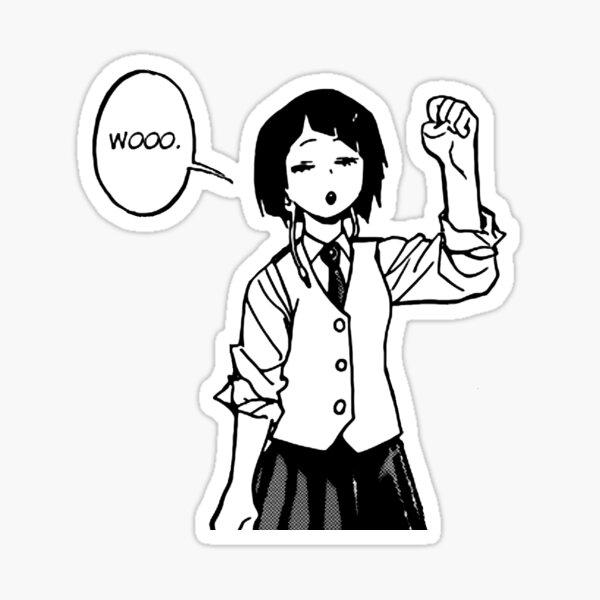 Kyoka Jirou Manga Sticker