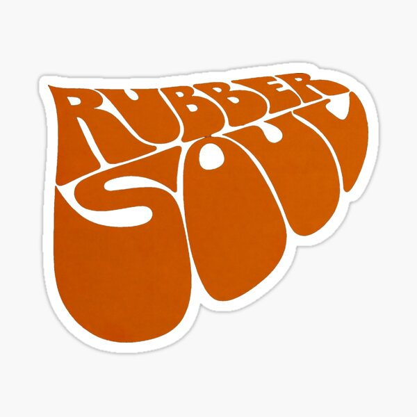 [HIGH QUALITY] Rubber Soul Logo Sticker