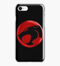 AVAILABLE SIZES S TO XXL, THUNDERCATS (BLACK)! Mens funny t-shirt iPhone Case/Skin